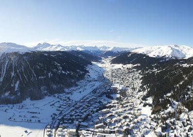 Davos - Davos vista aerea