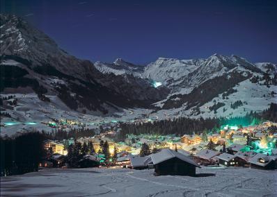 Adelboden -  di notte