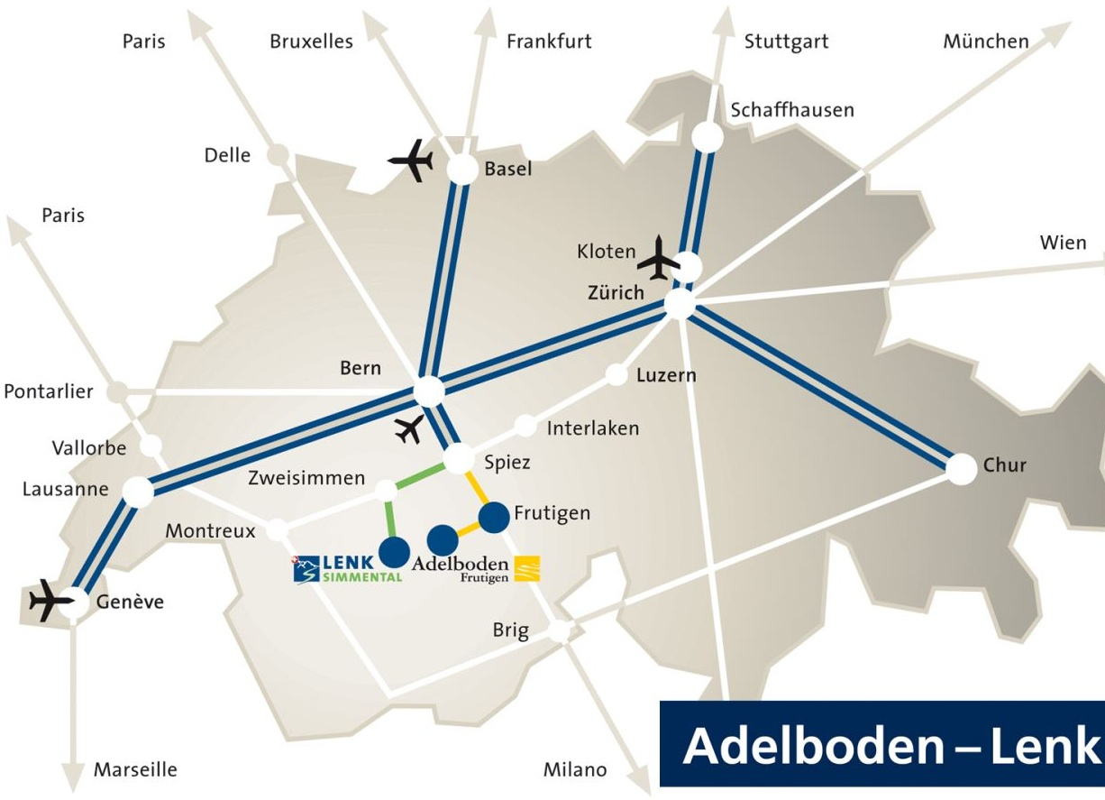 Come raggiungere Adelboden