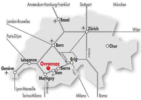 Come raggiungere Ovronnaz