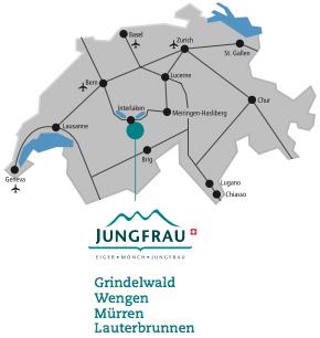 Access plan Lauterbrunnen
