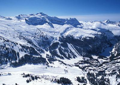 Flaine - mountain panorama