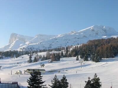 SuperDévoluy - гірська панорама