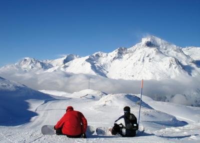Val Cenis Vanoise - сноубордист