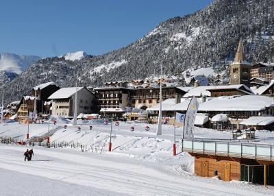 Montgenèvre - χιονοδρομικός σταθμός