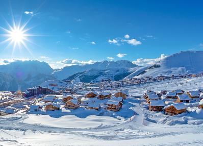 Alpe d'Huez - лижня місцевість