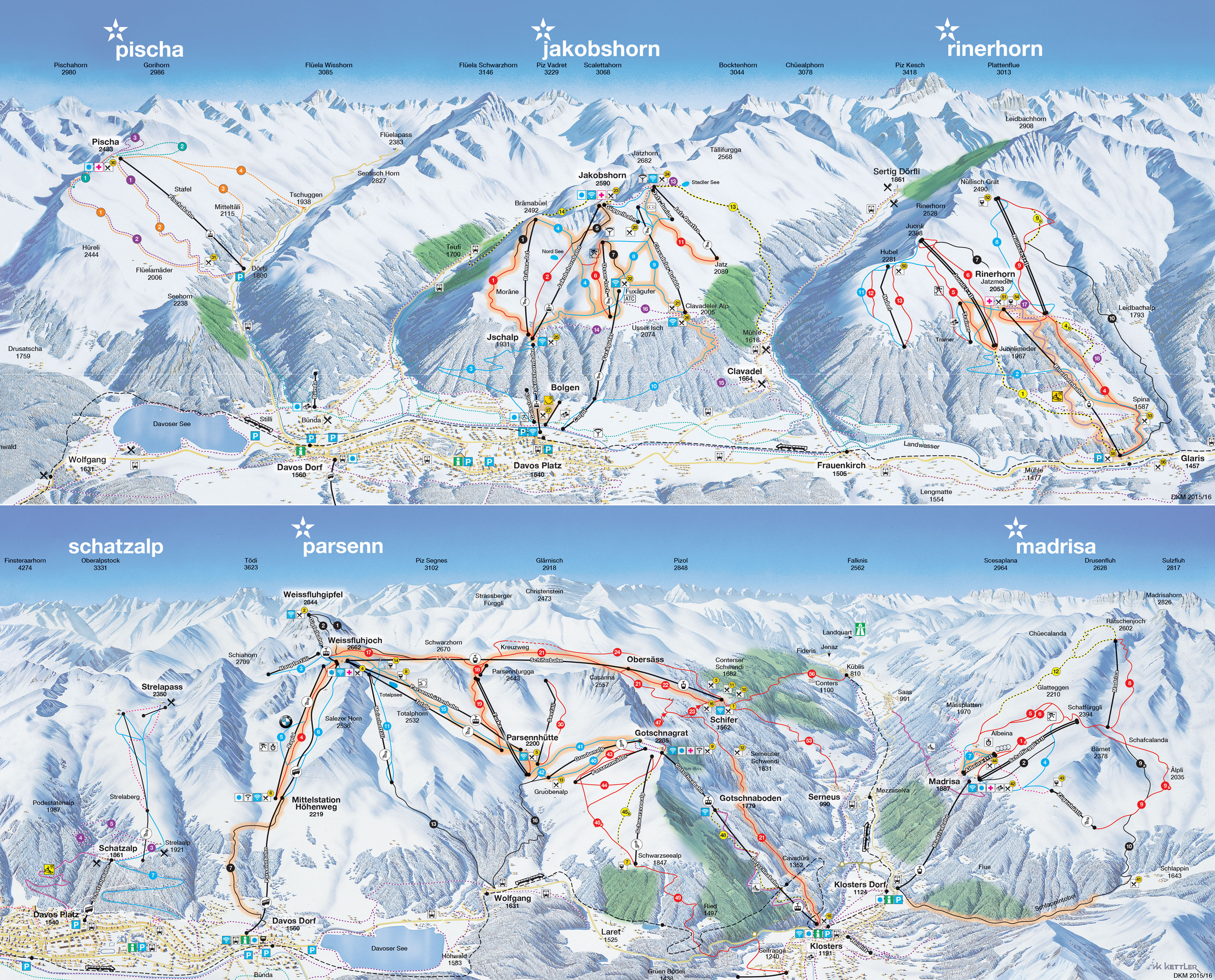 Davos Klosters book apartments and chalets with skisuissecom