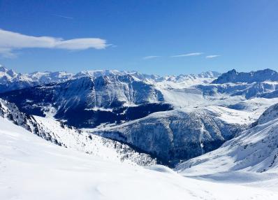 Evasion Mont-Blanc - Vista sobre la montaña