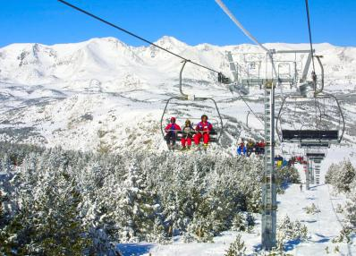 Pyrénées 2000 - stoeltjeslift