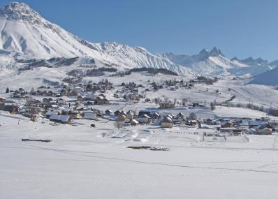 Albiez-Montrond - Skiort