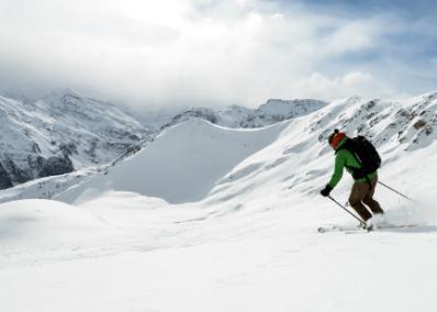 Grimentz-Zinal - skiing