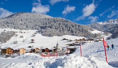 Arêches - ski resort
