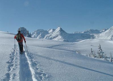 Pralognan - Skifahrer
