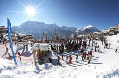 Orcières 1850 - χιονοδρομικός σταθμός