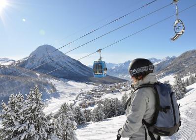 Vialattea/Montgenèvre - Vue sur les montagnes