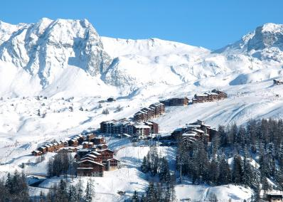 Plagne Villages - skidort