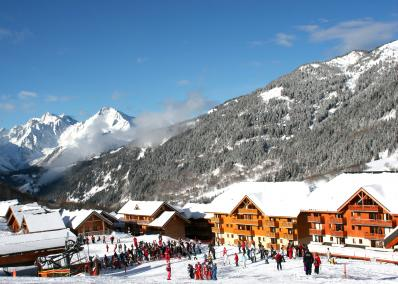Saint François - ski resort