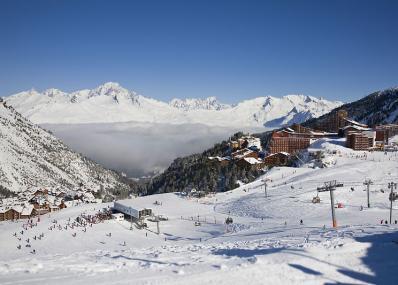 Les Arcs 2000 - Skipiste und Skiort