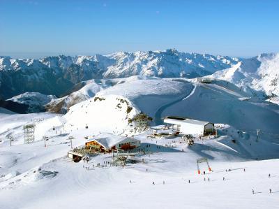 Deux Alpes - Výstup z vleku