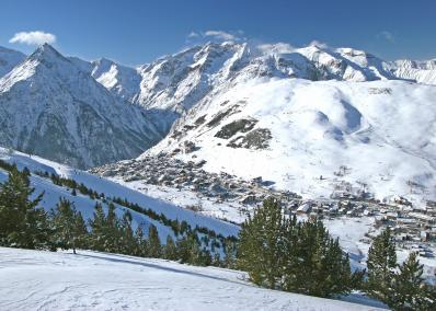 Deux Alpes - χιονοδρομικός σταθμός